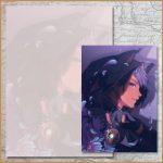 Violet Aster (A5)